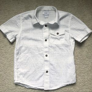 Old Navy White Button Down (boy's XS 5)